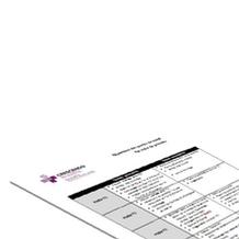 Boutique - Exemple de répartition des tâches par poste - tâches primaires et secondaires (Word)