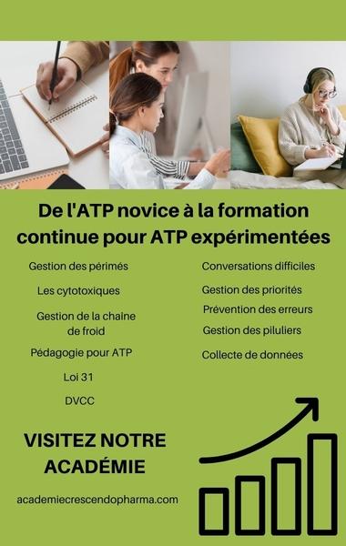 Formation des atp