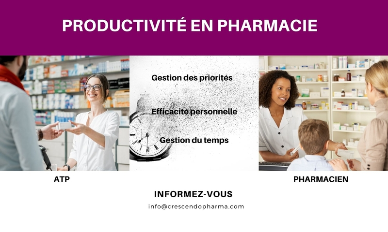 productivite en pharmacie